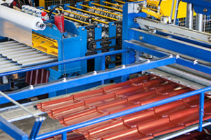 Здание по производству стальных профилей